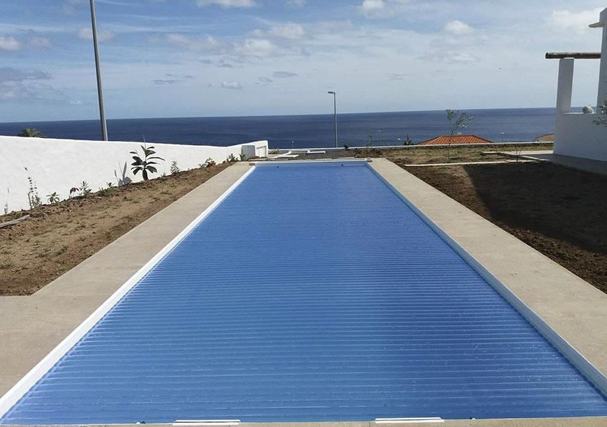 Coberturas para piscinas for Cobertura piscina